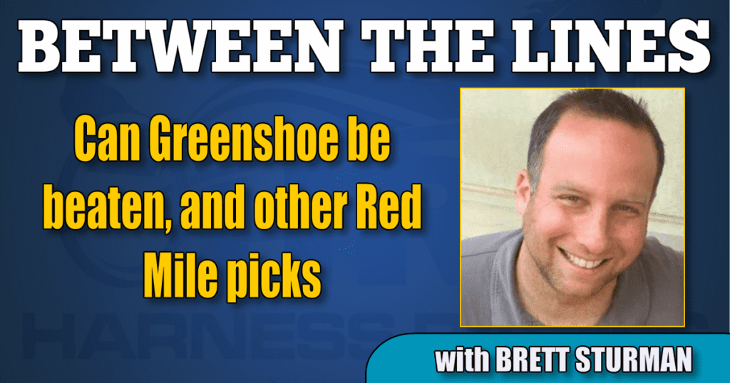 Can Greenshoe be beaten, and other Red Mile picks